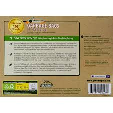 Christmas Tree Trash Bags Walmart by Eco Friendly Bags Small Garbage Bags 4 30 Bag S Walmart Com
