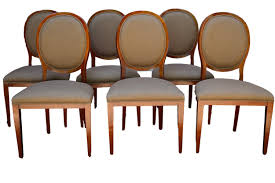 Upholstered Dining Chairs Set Of 6 by Furniture Ergonomic Crate And Barrel Basque Dining Room Set Buy