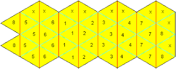 1 Draw The Net With Equilateral Triangles Compasses And A Ruler Numbers To 8 Are Only For Explaining X Indicates Surfaces Be Glued