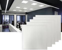 40w led panel 60x60 cm deckenleuchte kaltweiß 6400k 3400 lumen einbaustrahler spot strahler eckig deckenle küchenle wandle schlafzimmer