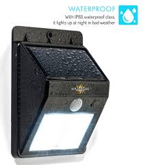 solarblaze bright solar led lights motion sensor