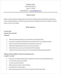 10 resume objective for a high school student resume resume