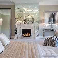 luxus abgeschrägte spiegel fliesen dekoration für schlafzimmer