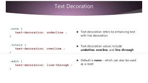 Text Decoration Underline More Space by Css Basic Syntax 2