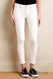 paige verdugo ankle jeans in white lyst