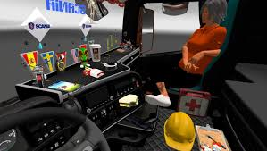 DLC CABIN ACCESSORIES PACK V1 1.21 ETS 2 -Euro Truck Simulator 2 Mods