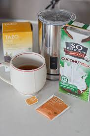 Tazo Pumpkin Spice Chai Latte Nutrition by Healthy Coconut Chai Latte Recipe The Chic Life