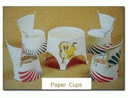 Art And Craft For Kids With Paper Cups