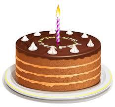 3D Birthday Cake Clipart