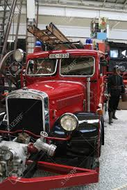 100 Fire Truck Museum Vintage In A Technical Stock Photo Picture And