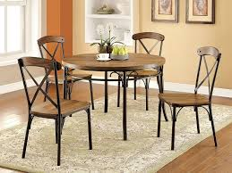 KitchenPipe Table Legs For Sale Pipe Frame Rustic Metal And Wood Dining
