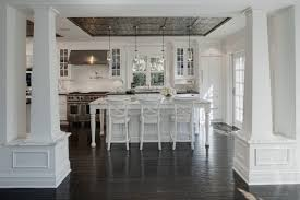tin ceiling transitional kitchen airoom