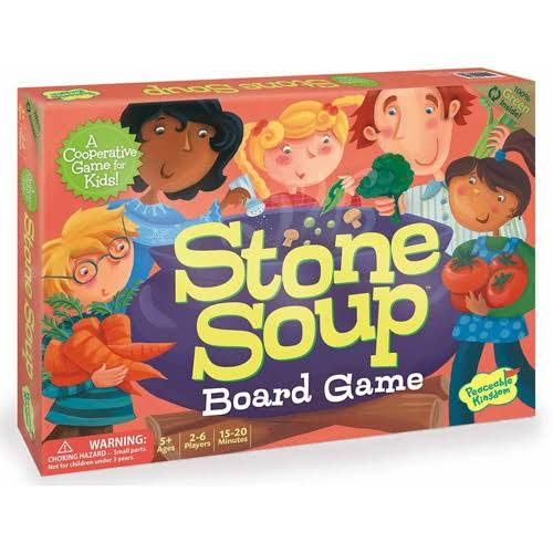 Peaceable Kingdom Press Board Game - Stone Soup
