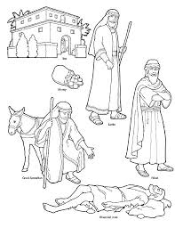 Best Good Samaritan Coloring Page 71 About Remodel For Kids With