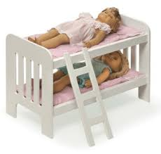 Bunk bed for American Girl Dolls Madame Alexander Doll Our