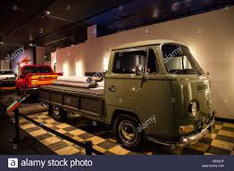 A 1968 Volkswagen Truck With Fold Down Sides On The Bed Stock Photo ...