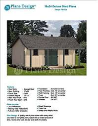 16x20 Shed Plans With Porch by 16 U0027 X 20 U0027 Cottage Shed With Porch Project Plans Design 61620