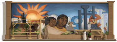 Diego Rivera Rockefeller Center Mural Controversy by Today Is Diego Rivera U0027s 125th Birthday Mural Locator