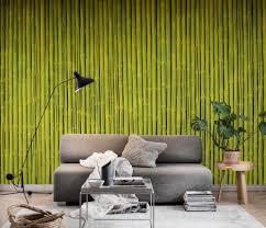 bambustapete wohnzimmer zimmer innenarchitektur hintergrund