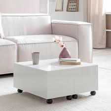 kleiner wohnzimmertisch mit rollen caseconrad