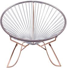 Innit Acapulco Rocking Chair by Innit Rocking Chair Copper Base Innit Designs Horne