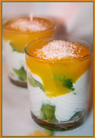 dessert aux kiwis facile recette de verrines kiwis mascarpone et coulis de mangue la
