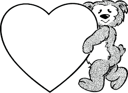 Heart Coloring Sheets Free Sheet Printable Valentines Pages Snow White And The Seven Dwarfs Full