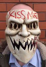 Purge Anarchy Mask For Halloween by Awesome The Purge Anarchy Mask Fancy Dress Halloween Costume Kiss