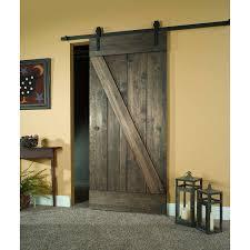 Wood Barn Door Kit, 30