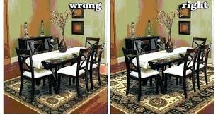 Area Rugs Under Dining Room Tables Rug Under Kitchen Table Dining