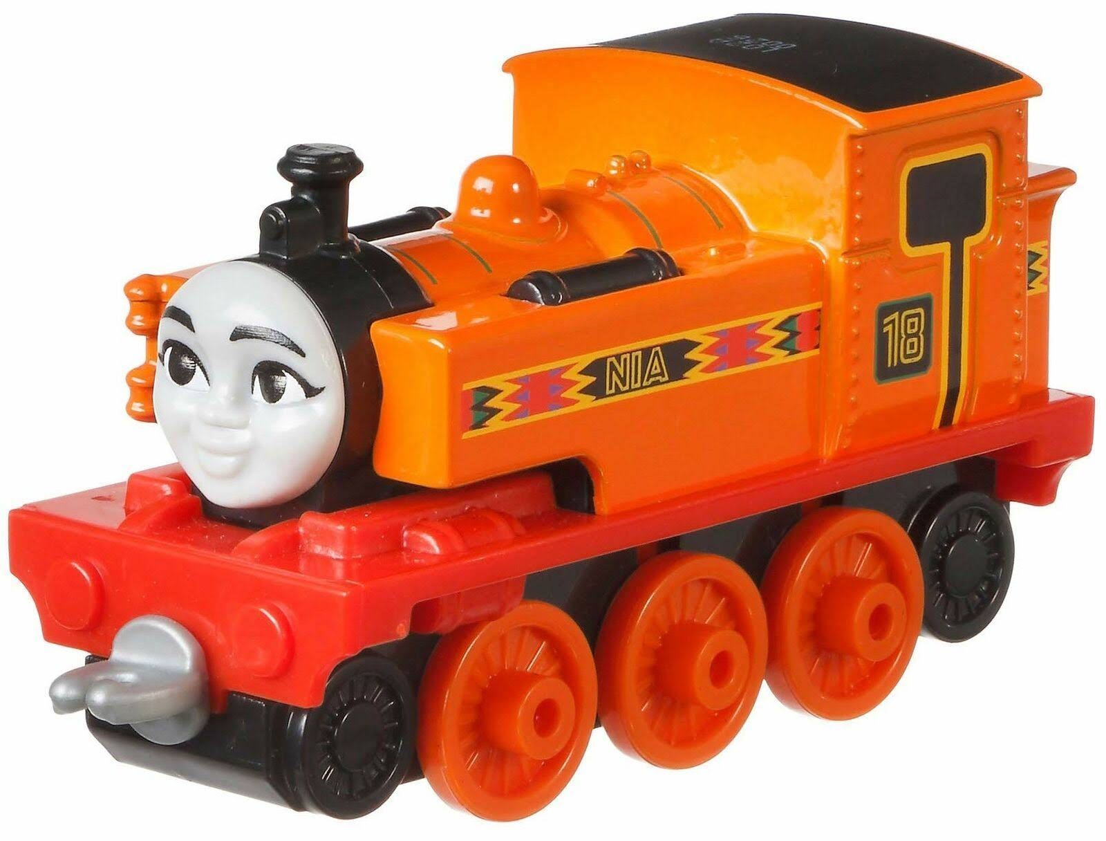 Fisher Thomas Friends Adventures Nia Metal Train Engine Toy