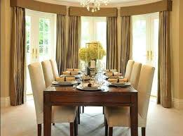 Dining Room Curtain Window Covering Ideas For Design