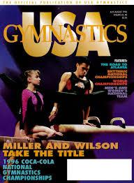 Dominique Moceanu Floor Routine by Usa Gymnastics July August 1996 By Usa Gymnastics Issuu