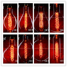 a160 e27 e26 oversize 110 240v large bulb squirrel cage carbon