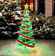 Spiral Trees Outdoor Tree 3 Piece Set At Big Lots