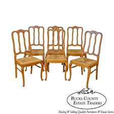 French Country Style Antique Set Oak Rush Seat Dining Chairs ... Refinished Painted Vintage 1960s Thomasville Ding Table Antique Set Of 6 Chairs French Country Kitchen Oak Of Six C Home Styles Countryside Rubbed White Chair The Awesome And Also Interesting Antique French Provincial Fniture Attractive For Eight Cane Back Ding Set Joeabrahamco Breathtaking