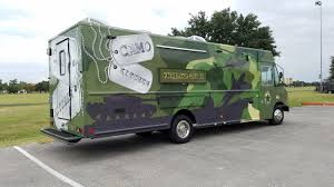 100 San Antonio Food Truck Camo Kitchen S Roaming Hunger