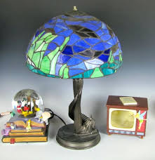 Tiffany Style Lamp Shades by Disney Cinderella Castle Tiffany Style Lamp And Accents Ebth