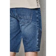 pacsun skinny medium moto cutoff denim shorts by pacsun denim
