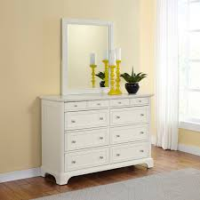 Sauder Shoal Creek Dresser Soft White by Home Styles Naples Pedestal Desk White Hayneedle