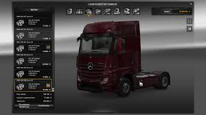 ENGINE FOR MERCEDES-BENZ ACTROS For ETS 2 -Euro Truck Simulator 2 Mods