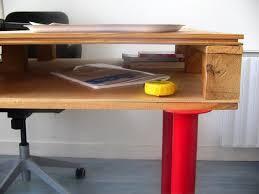 palette bureau fabriquer un bureau