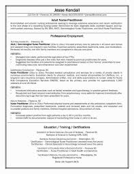 Nursing Resume Template New Sample Rn Awesome Experienced Fresh Nurse 0d