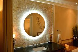 wall mount lighted mirror 8 inch lighted wall mount makeup mirror