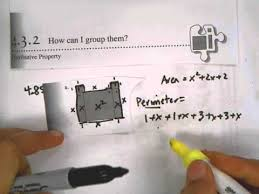4 3 2 finding the area perimeter using algebra tiles part a