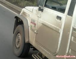 Spied: Mahindra Bolero Maxi Truck Plus | CarSizzler.com