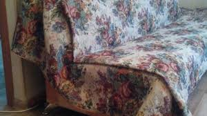 Armless Chair Slipcover Sewing Pattern by How To Diy A Fabric Sofa Cover Diy Home Tutorial Guidecentral