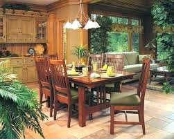 Cherry Mission Dining Room Set Craftsman Style Chairs Table