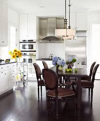 ENLARGE Tria Giovan Sophisticated Kitchen Dining Room Combination