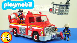 100 Playmobil Fire Truck PlayMobil City Action Lights And Sounds Engine Playset Toy